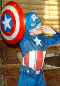 Captain America has nothing on this guy!
