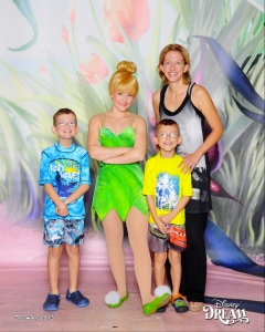 Yes, I made them pose with Tinkerbell