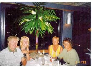 The Mom, the girl, the Aunt and the Cousin on that fateful night